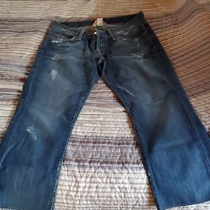 Lucky brand lil maggie cropped ankle jeans